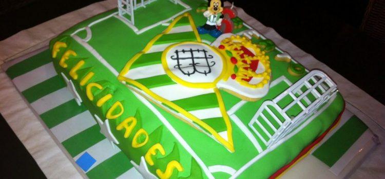 Tarta de cumpleaños Bética